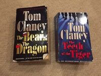 Tom Clancy novels - The Bear and the Dragon and the Teeth of the Tiger