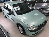 2002 Vauxhall Corsa 1.2i 16v GLS - 3 F Keepers - 2 Keys