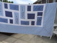 Double Bed Patchwork Throw