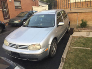 2004 Volkswagen Golf 4 door Hatchback