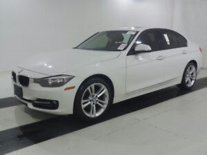 2014 BMW 3 SERIES 320i xDrive | WHITE EXT W/ RED INTERIOR |
