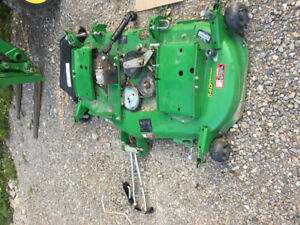 John Deer Ride over deck mower
