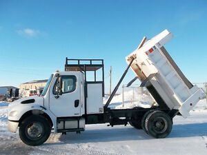 2005 Freightliner M2 Dump Truck single axle non emission Cat C-7