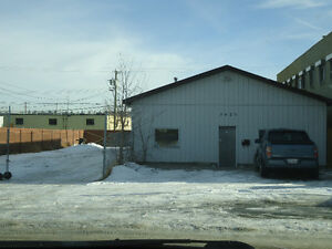 Fully Fenced warehouse and open land for rent.