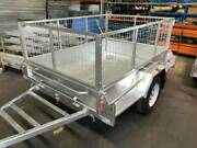 No Deposit 0% Interest! 8x5 Box Trailer with Cage 750KG ATM Coorparoo Brisbane South East Preview