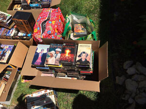 Sellng VHS's 50 cent's each film or a bundle for cheaper!