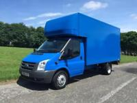 Ford Transit 350 LWB 2.4Tdci 115ps 13ft 6in Luton Box Van Tail Lift, Very Clean