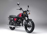 Bullit Motorcycles Hunt S 125cc