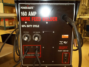 POWER-MATE 160 amp MIG WELDER Kitchener / Waterloo Kitchener Area image 2