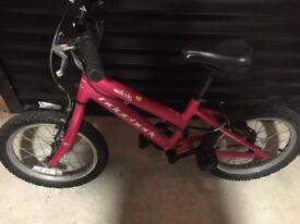 """Melody ridgeback girls 16"""" bike Evans"""
