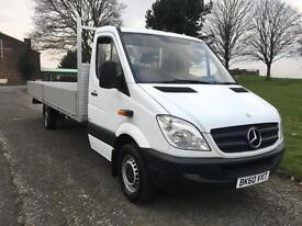 Mercedes Sprinter 313 3.5T XLWB Extra Long 20ft (6.1M) Load Length Dropside