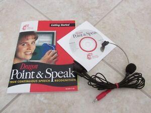 Dragon Point & Speak - Speech Recognition Software
