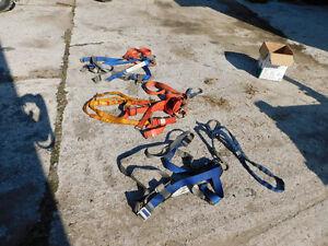 Safety Harnesses, 3 Complete Sets