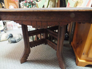 Beautifully Carved Coffee Table Windsor Region Ontario image 1