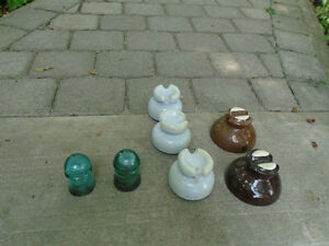 Seven Antiques insulators
