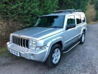 2007 JEEP COMMANDER 5.7 V8 HEMI LIMITED AUTOMATIC 4X4 7 SEATER LPG CONVERSION