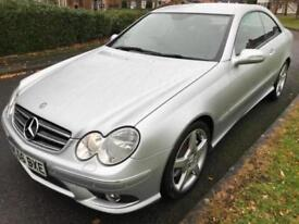 MERCEDES-BENZ CLK 280 3.0 V6 SPORT 7G-TRONIC (2006 56) COUPE RED LEATHER