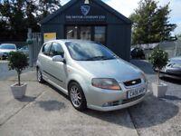 Chevrolet Kalos 1.4 SPORT (silver) 2006