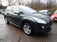 Peugeot 3008 1.6 HDI EXCLUSIVE (1 OWNER + SUNROOF + PARKING SENSORS) (grey) 2011