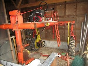 Balthes Harvester Priming machine