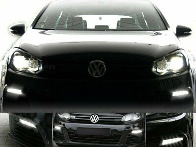 For Vw Golf 6 with Xenon Original Kufatec Cable Loom Adapter LED Daylight Lamps