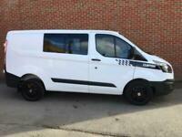 Ford transit custom 2017 Euro 6 crew van 6 seats combi van