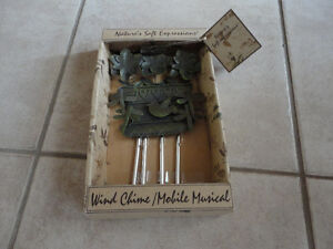 Brand new in box metal outdoor wind chime London Ontario image 1