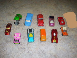 Toy Diecast Cars and Trucks - 23 Vintage Collectible And Rare