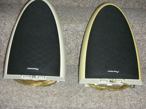 PAIR OF PIONEER S-DS1-Z SURROUND SPEAKER WALL MOUNTING