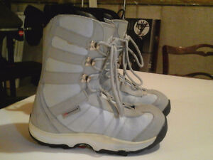 Morrow womens snowboard boots size 8 in good condition.$40