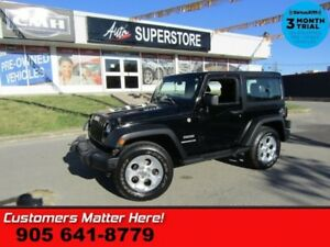 2011 Jeep Wrangler Sport  4X4 MANUAL 2-TOPS AIR CONDITIONING