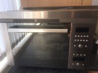 Bosh Gourmet HFT879 integrated Oven/ Microwave, VGC