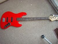 BARRACUDA JAZZ BASS ALMOST HALF PRICE