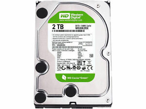 WD 2TB 3.5 SATA3 64MB Internal Hard Drive WD20EARX
