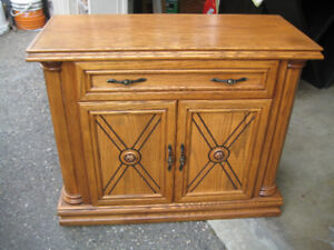 2 Wood dressers from Leons store