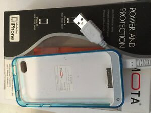 MOTA - Battery Case for Apple® iPhone® 4 and 4S