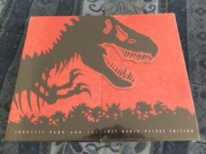 NEW Jurassic Park/Lost World Deluxe Edition Collectors Set
