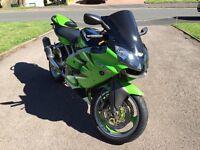 Kawasaki ZX6r J1 Motorbike **Low Mileage**