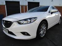 Mazda 6 2.2 TD SKY ACTIVE SE 4 DOOR SALOON LEFT HAND DRIVE LHD