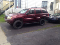 Jeep grand  Cherokee v8 2000  lifter 4.5 pouce. 2000$$$