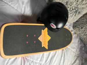Skateboard & Helmet for sale