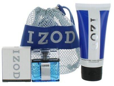 Izod By Phillips Van Heusen For Men Set  Bag   Edt Splash 0 25Oz   Asb 1 7Oz