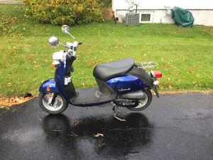2009 Yamaha Vino for sale with low kilometres