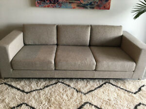 Gus* Modern 'Davenport' Sofa Couch - $ negotiable