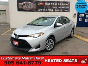 2017 Toyota Corolla LE  HTD-SEATS CAMERA 6 -TOUCH PWR-GROUP