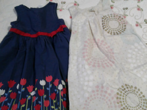 8 cute summer dresses - size 5