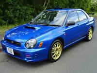 2002 Subaru Impreza S202 ONLY 400 PRODUCED 320BHP 2.0 4dr