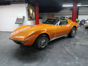 1970 corvette full restaurer