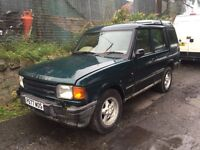 Off road Land Rover discovery 2.5tdi 300 series