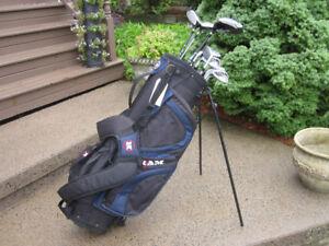 Men's Left Hand 12-pc Golf Clubs Set (Ram G-Force) & Bag